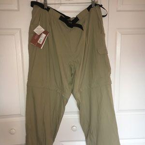 REI Exoiffico Mamphi Convertible Pants XL NWT